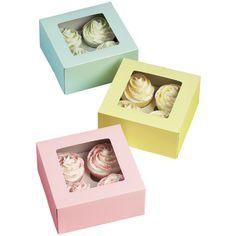 Caja Pastel para 4pz.  415-1361 $115.97