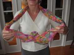 MissusSmartyPants shows you another way to tie a scarf!