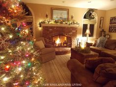 New England Fine Living is ready for Santa!