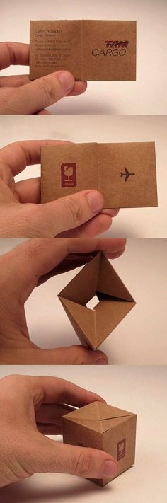 Clever and so Creative business card!