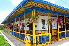 La Joya del Parque Paint Schemes, Pergola, Outdoor Structures, Decoration, Outdoor Decor, Painting, Home Decor, World, Dream Homes