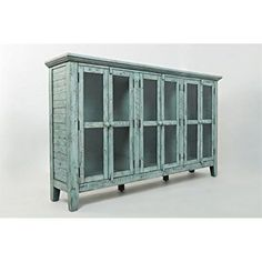 Find farmhouse cabinets, modern cabinets, rustic antique cabinets, industrial cabinets, and more at Farmhouse Goals! Farmhouse Cabinets, Rustic Cabinets, Blue Cabinets, Farmhouse Furniture, Rustic Furniture, Home Furniture, Beach Furniture, China Cabinets, Refinished Furniture