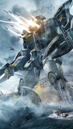Pacific Rim - Striker Eureka : Such a bad movie but this art is pretty cool!