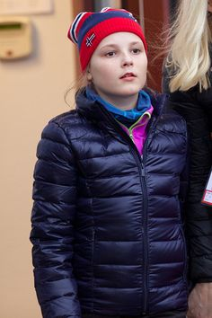 Princess Ingrid Alexandra of Norway attends the FIS Nordic World Ski Championships on 27.02.2015 in Falun, Sweden.
