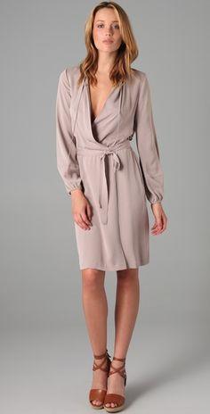 DVF Nove Wrap Dress