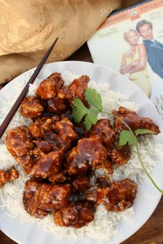 General Tso's Chicken ~ I love the spicy sweetness ~ adjust the amount of chili flakes to taste