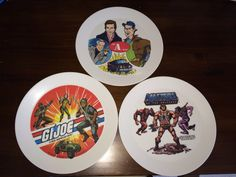 Early 80s plates Geek Stuff, Plates, Geek Things, Licence Plates, Plate, Dish, Dishes, Plate Racks