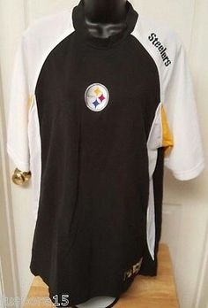 14.99 Ebay.Juspora, Show your  passion for your team         NFL Unisex Multi Color Pittsburgh Steelers Shirt Size L