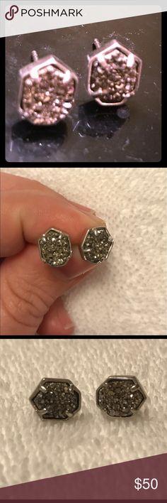 Kendra Scott druzy studs Kendra Scott druzy stud. Like new! Kendra Scott Jewelry Earrings