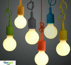 trasporto libero moderno fashional gel di silice lampada a sospensione , colourful prezzo all'ingrosso pandent illuminazione 1 pezzo in da Luci del pendente su AliExpress.com | Gruppo Alibaba