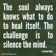 The Knowing Soul....