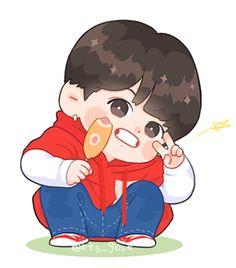 Pokemon, Cute Love Cartoons, Jungkook Fanart, Kpop Drawings, Bts Chibi, I Wallpaper, Bts Photo, Cartoon Art, Bts Memes