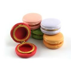 Macaroon Limoges Trinket Boxes; too cute! (and calorie free too!)