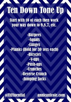 Circuit Workout (at home!)