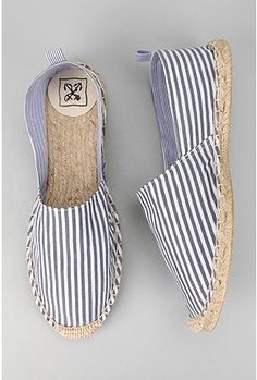 UrbanOutfitters.com > Anchor Yarn-Dyed Stripe Espadrille