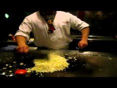 Hibachi Grill footage of my night out - YouTube