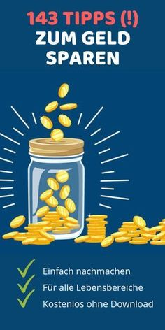 ᐅ Der ultimative Spar-Guide: Die 143 besten Tipps zum Geld sparen In our ultimate savings guide, you'll learn the best 143 tips on saving money. money up Money Plan, Money Tips, Money Saving Tips, Ways To Save Money, How To Make Money, Household Expenses, Savings Planner, Budget Planer, Money Saving Challenge