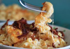 Try my smoky mac and cheese with... BACON!!! Oh yes...
