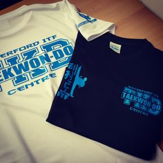 Some of our clima cool tees printed for Master Franks in Waterford ITF #takewondo #martialarts #karate #itf #mma #muaythai