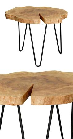 The Sling Groove Accent Table reminds us of the powerful impact of bringing nature indoors. Indulge your love of raw, natural wood with this fabulous table and its sleek forested look. Trying to create...  Find the Sling Groove Accent Table, as seen in the The Raw Edge of Modern Collection at http://dotandbo.com/collections/the-raw-edge-of-modern?utm_source=pinterest&utm_medium=organic&db_sku=114660