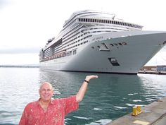 Facebook fan, Ed Cassidy, and #MSCDivina.
