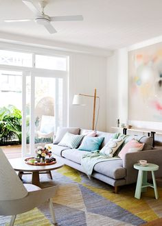 Light, laidback and relaxing space - Home Beautiful