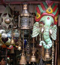 Janpath and Tibetan Market, Delhi