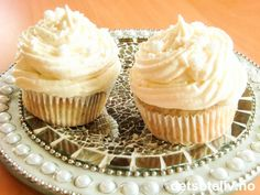 Banana Cupcakes with Vanilla Frosting | Det søte liv