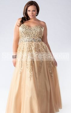 Sexy Sweetheart Neckline Sequin Embellished Long Dress with Jeweled Waist