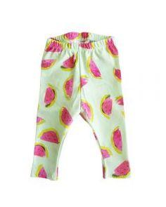 Legging Meloen #babybroekjes #baby #kids #handmade #design #kidsclothes #kinderkleren