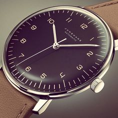 Junghans Watch by Max Bill