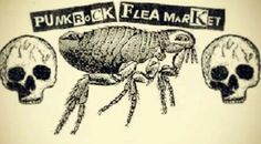 Punk rock flea marke