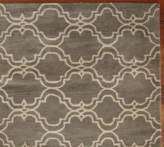 scroll Tile Rug from Pottery Barn!