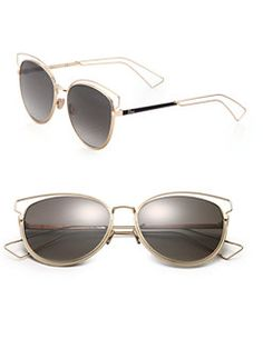 ea2a0e35e2ef Dior - Sideral Cat s-Eye 56MM Sunglasses Christian Dior Sunglasses