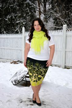 Full Figured & Fashionable: NEON OMBRE