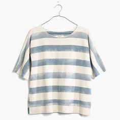 hand paint stripes on the bento box tee for a similar look