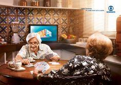 2/5 TV Globo Nordeste crea una serie de gráficas para promocionar lo imposible que es quitarle la mirada a su programa. La #solucion fue representar escenas de la vida donde se busca quitar las distracciones.