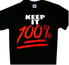 KEEP IT 100% EMOJI TEE