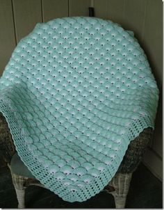 1000 images about mantitas bebe on pinterest patrones - Mantas de bebe hechas a ganchillo ...