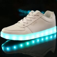 attractive unisex night bar led lighting shoes for teens