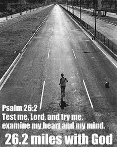 #26.2 miles of bible verses..for the #runner