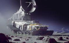 Strike Vector   Space exploration - Paul Chadeisson