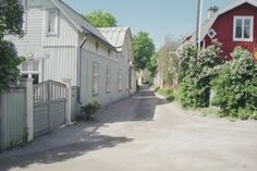 I shared my love for Gamla Malmen by The Archipelago Trail. Architecture Old, Malm, Archipelago, 18th Century, Trail, Shed, Outdoor Structures, Traditional, City