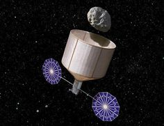 Recently announced by NASA, this Asteroid Retrieval Spacecraft may culminate in a mission as early as 2021 to bring a 30-foot-wide asteroid from deep space to the vicinity of the Moon for human exploration. Image Credit: NASA