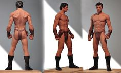 "John Carter of the Edgar Rice Burroughs story— 6"" (15.24cm) tall"