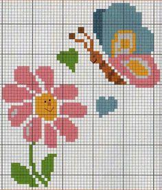 Fabinha Gráficos Para Bordados: Flores                                                                                                                                                                                 Mais