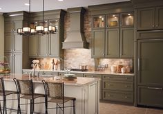 Kitchen Inspiration Gallery | Home Depot Canada ~nice colour~