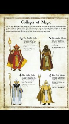 Colleges of Magic The Empire