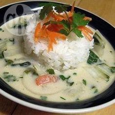 Thai Coconut Chicken Soup - Tom Ka Gai @ allrecipes.com.au