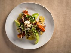 ABC Kitchen's Carrot and Avocado Salad. Incredible salad. Satisfying on so many levels!